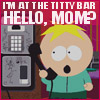 Butters at the strip joint