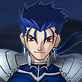Calm Lancer of Fate Stay Night