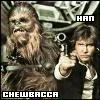 Chewbacca & Han