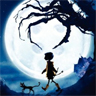 Coraline in moonlight