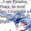 Crestfallen soul