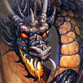 Dark Fire Dragon