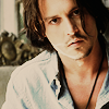 Depp long hair