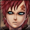 Gaara art surprised