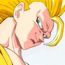 Goku Smiling