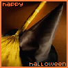 Happy Halloween - Witches Hat & Broom