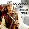 Hide behind Will