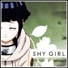 Hinata Hyuuga shy girl