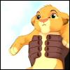 Holding Simba