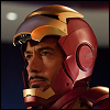 Iron Man in helmet