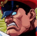 M Bison Looking Mean