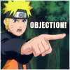Objection by Naruto