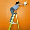 Painting a room Orange