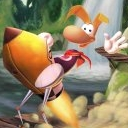 Rayman On A Rocket