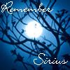 Remember Sirius