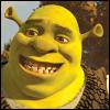 Shrek big grin