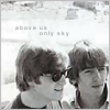 above us only sky - lennon and harrison