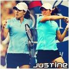 justine tennis