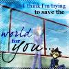 savingtheworldforyou